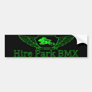 Hire Park BMX Bumper Sticker Car Bumper Sticker