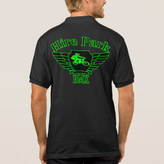 Hire Park BMX Polo - Front and Back Logos