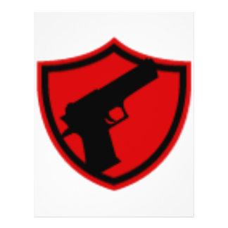 Hired GUNS Flyer Design