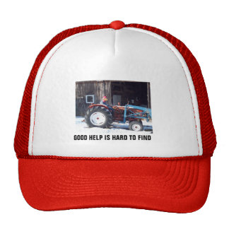 Hired Hand Rooster driving Tractor - Funny Trucker Hat
