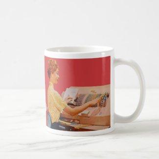 hired pretty coffee mug