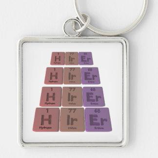 Hirer H-Ir-Er Hydrogen Iridium Erbium Key Chain