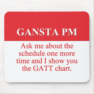 Hiring Gangsters in Project Management (2) Mousepads