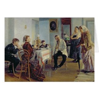 Hiring of a Maid, 1891-92 Greeting Card