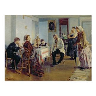 Hiring of a Maid, 1891-92 Postcard