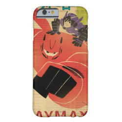 Big Hero 6 Propaganda Style Case-Mate Barely There iPhone 6 Case