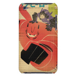 Case-Mate iPod Touch Barely There Case with Big Hero 6 Propaganda Style design