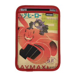 Big Hero 6 Propaganda Style iPad Mini Sleeve
