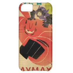 Case-Mate Barely There iPhone 5C Case with Big Hero 6 Propaganda Style design