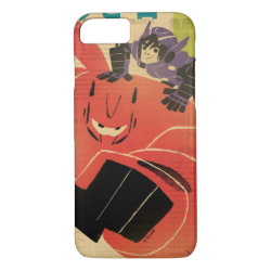 Big Hero 6 Propaganda Style Case-Mate Barely There iPhone 7 Case