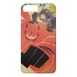 Case-Mate Tough iPhone 7 Plus Case with Big Hero 6 Propaganda Style design