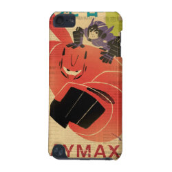Case-Mate Barely There 5th Generation iPod Touch Case with Big Hero 6 Propaganda Style design
