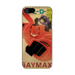 Incipio Feather Shine iPhone 5/5s Case with Big Hero 6 Propaganda Style design