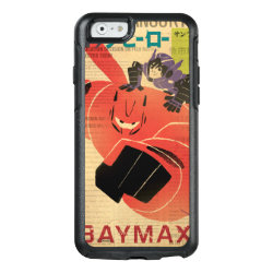 OtterBox Symmetry iPhone 6/6s Case with Big Hero 6 Propaganda Style design