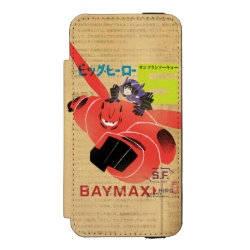 Incipio Watson™ iPhone 5/5s Wallet Case with Big Hero 6 Propaganda Style design