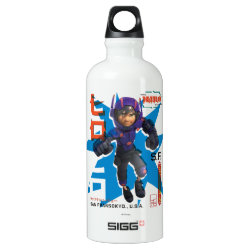 SIGG Traveller Water Bottle (0.6L) with Hiro Hamada from Big Hero 6 design