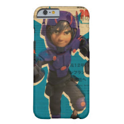 Case-Mate Barely There iPhone 6 Case with Hiro Hamada from Big Hero 6 design
