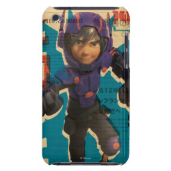 Case-Mate iPod Touch Barely There Case with Hiro Hamada from Big Hero 6 design