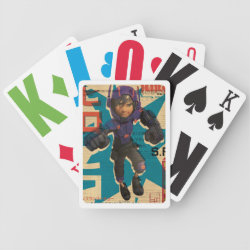 Playing Cards with Hiro Hamada from Big Hero 6 design