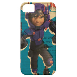 Case-Mate Vibe iPhone 5 Case with Hiro Hamada from Big Hero 6 design