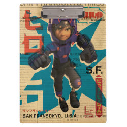Hiro Hamada from Big Hero 6 Clipboard