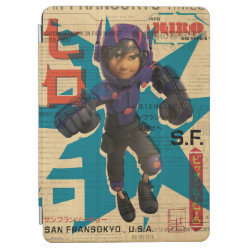 iPad Air Cover with Hiro Hamada from Big Hero 6 design