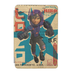 iPad mini Cover with Hiro Hamada from Big Hero 6 design