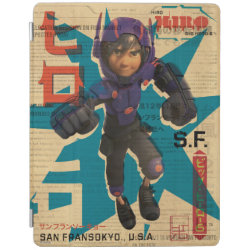 Hiro Hamada from Big Hero 6 iPad 2/3/4 Cover