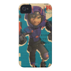Case-Mate iPhone 4 Barely There Universal Case with Hiro Hamada from Big Hero 6 design