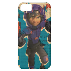 Case-Mate Barely There iPhone 5C Case with Hiro Hamada from Big Hero 6 design