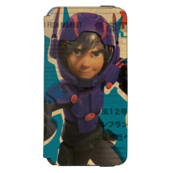 Incipio Watson™ iPhone 6 Wallet Case with Hiro Hamada from Big Hero 6 design