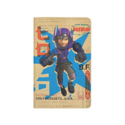 Pocket Journal with Hiro Hamada from Big Hero 6 design