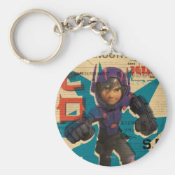 Hiro Hamada from Big Hero 6 Basic Button Keychain