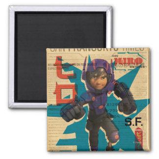 Hiro Propaganda Fridge Magnets