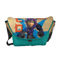 Hiro Hamada from Big Hero 6 Rickshaw Medium Zero Messenger Bag