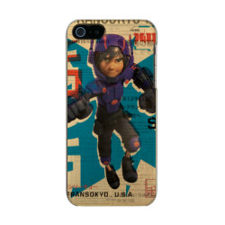 Incipio Feather Shine iPhone 5/5s Case with Hiro Hamada from Big Hero 6 design