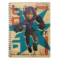 Hiro Hamada from Big Hero 6 Photo Notebook (6.5