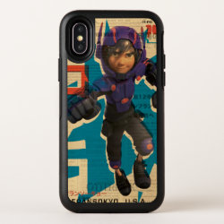 OtterBox Apple iPhone X Symmetry Case with Hiro Hamada from Big Hero 6 design