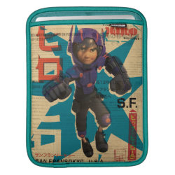 iPad Sleeve with Hiro Hamada from Big Hero 6 design