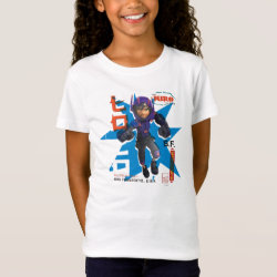Hiro Hamada from Big Hero 6 Girls' Fine Jersey T-Shirt
