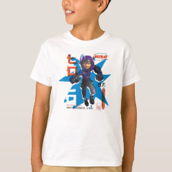 Hiro Hamada from Big Hero 6 Kids' Hanes TAGLESS® T-Shirt