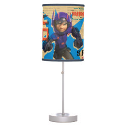 Table Lamp with Hiro Hamada from Big Hero 6 design