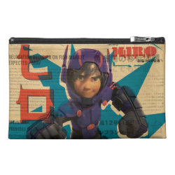 Travel Accessory Bag with Hiro Hamada from Big Hero 6 design