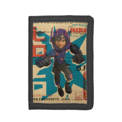 Hiro Hamada from Big Hero 6 TriFold Nylon Wallet