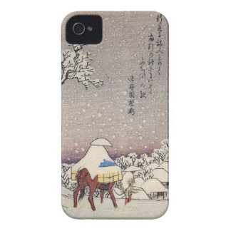 Hiroshige 1797-1858 Horseback Case-Mate iPhone 4 Case