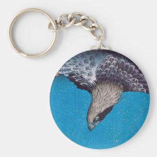 Hiroshige Eagle Key Chain