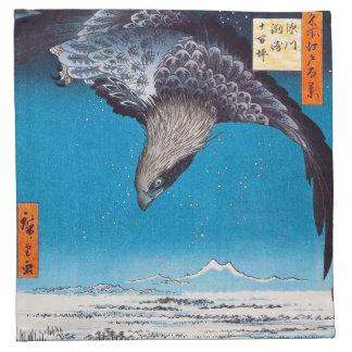 Hiroshige Eagle Napkins