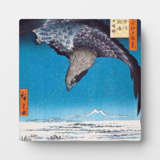 Hiroshige Eagle Plaque