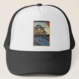 Hiroshige Five pines Trucker Hat