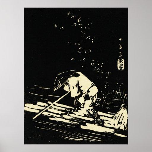 Hiroshige Hanaikada Poster